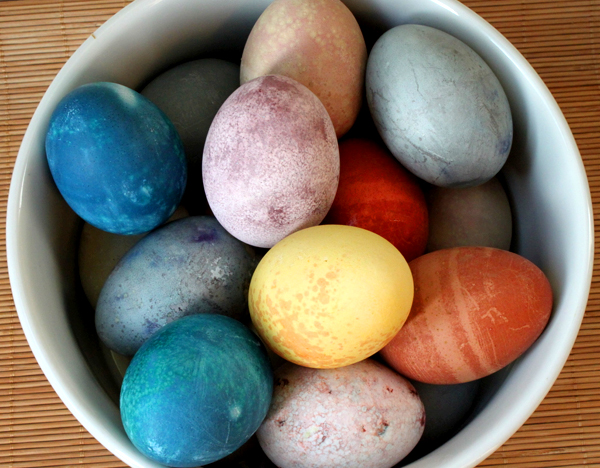 ... once the dye is dry from natural easter egg dyes itsy bitsy foodies