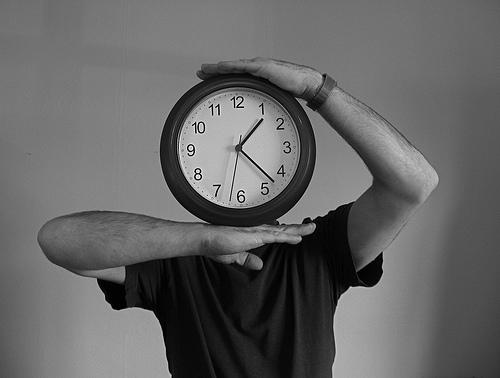 sleep clock face